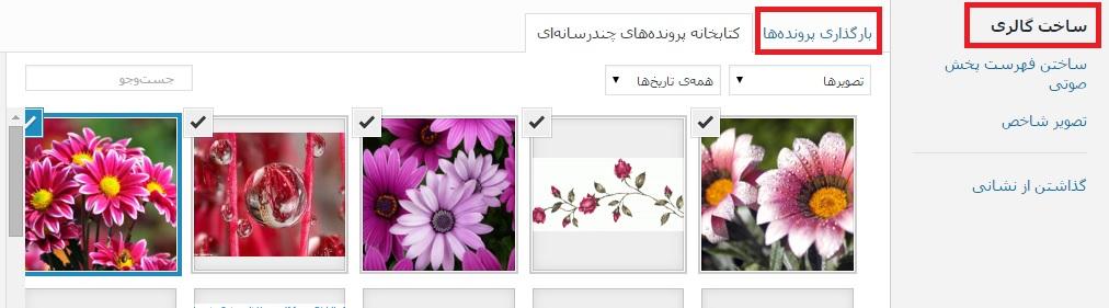 upload-img-wpsource.ir آموزش تصویری ساخت گالری در وردپرس آموزش تصویری ساخت گالری در وردپرس upload img wpsource